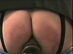 Roundass111 Rubber toy after Spanking
