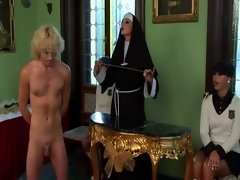 Filthy mistress nun and minions