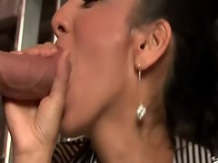 Upper class chick loves to fuck in public places