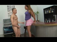 Lucious Latina Harlot Annoyed by Peverted Armpit Pevert