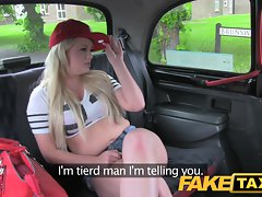 FakeTaxi Butt stroking council estate bitch