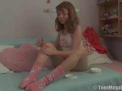 Juicy saucy teen is filled with spunk