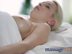 Massage Rooms Soft skinned beauty's succulent hole tingles