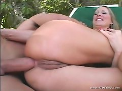 Mandy Bright accepts this stiff penis deep in her filthy bum