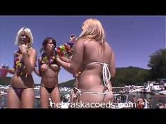 Nude Boat Party Bash