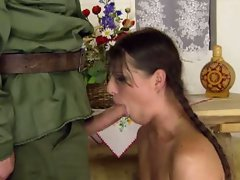 Innocent agata fuck by the commander