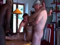 Dirty gangbang mummy party