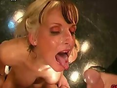 Sexual german vixens luxuriate bukkakes
