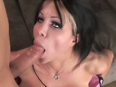 Huge knockers pervert danielle stroking and swallowing