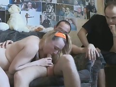 Sveta suckk and fuck while her boy watch