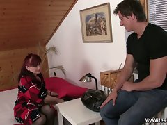 Mamma bangs her daughter's husband