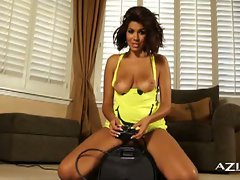 Sybian pleasures for isis taylor
