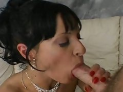 Attractive cougar screwed rough