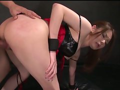 China - bound, toyed and banged