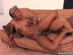 Miss simone stuffed by shorty