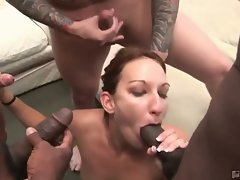Allie steal gives out the best fellatio ever!