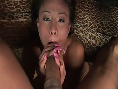 Jayna oso gets facefucked by a xxl big cock