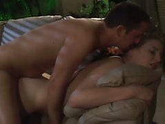 Comely house sitter turns into a alluring whore