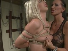 Mandy and chloe's lesbo bdsm