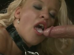 Gina's bdsm and cum facial