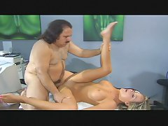 Ron jeremy screws top heavy tempting blonde