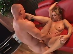 Cock-hungry slutty mom banged wild