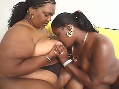 Naughty ebony girls - lez be hippos 2