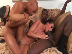 Czech whore likes all things big and ebony
