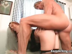 Attractive vixen gets slit and butt banged part3