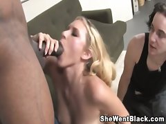 Katie Summers gets Anus from a Black Man while her cuckold watches