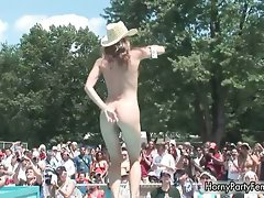 Luscious nude and sensual models are dancing part5