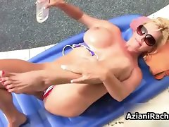 Luscious blondie slutty girl goes wild getting her part2