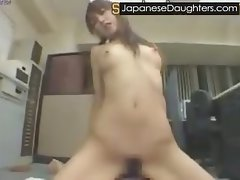 Younger jap daughters first huge gaping bum