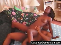Filthy ebony Schoolgirl Gets Banged Point of view