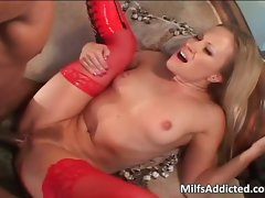 Tempting blonde vixen can be satisfied only part2