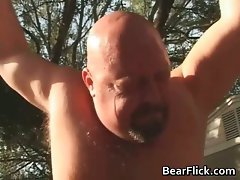 Big gay bears bone and suck prick in the part1