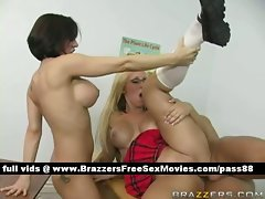 Two amazing nude schoolgirls get their snatch banged