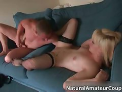 Alluring blond whore gets her slit fondled part2