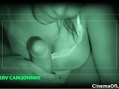 Nightvision activity of a sexual black young lady part6