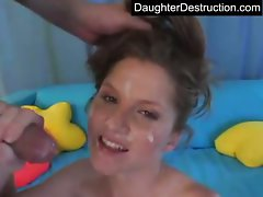 19yo daughter raw banged in backseat