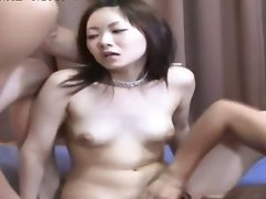 groupsex with hungry jap stunning anal