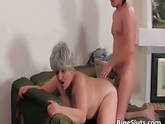 Chesty plump attractive mature vixen gets moist beefy part6