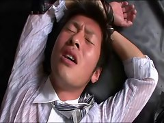 Seductive japanese office men sex