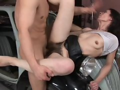 Fuck So Bushy Cunt & Cream Pie 3