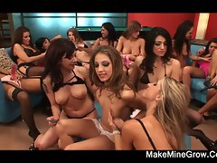 Lustful lezzy orgy with Jenna Haze