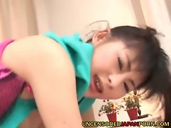 Jap young woman dick sucking - uncensored