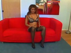Asia Lass In Stockings Screwed