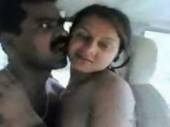 Seductive indian bhojpuri good looking banged in car by fet shaft
