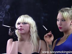 Sensual Smoking Sirens - Cigarette Holder Elegance 1