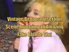 Vintage Bedpost Insertion Episode
